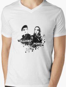 Amy Pond & Rory Williams Mens V-Neck T-Shirt