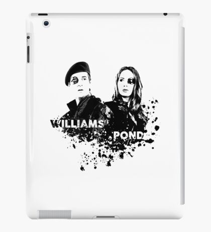 Amy Pond & Rory Williams iPad Case/Skin