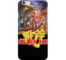 Golden Axe iPhone Case/Skin