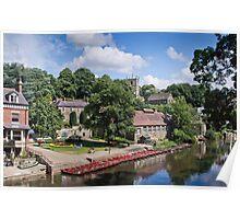 The River Nidd at Knaresborough Poster