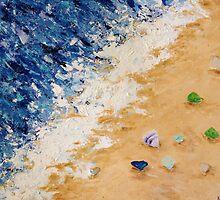 Sea Glass (2) by Kimberly  Daigle