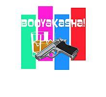 ARCHER BOOYAKASHA!! Photographic Print