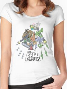 Rick & Morty - The Ball Fondlers Women's Fitted Scoop T-Shirt