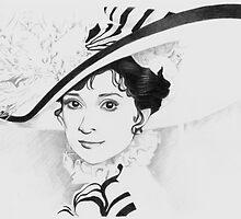 Audrey Hepburn by Alex Lehner