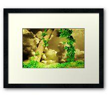 Woodland dream Framed Print