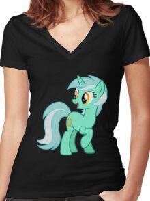 Lyra Heartstings Women's Fitted V-Neck T-Shirt
