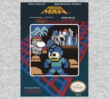 Mega Man Pixelated Boxart by xnmex