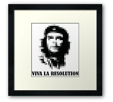 Viva la Resolution! Framed Print