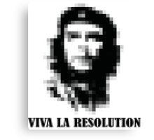 Viva la Resolution! Canvas Print