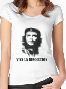 Viva la Resolution! Women's Fitted Scoop T-Shirt