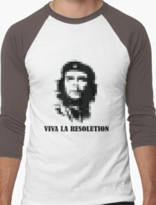 Viva la Resolution! Men's Baseball ¾ T-Shirt
