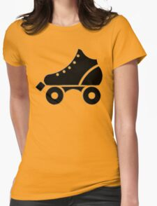roller-skate Womens Fitted T-Shirt
