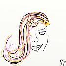 Woman's face by Sotiris Filippou