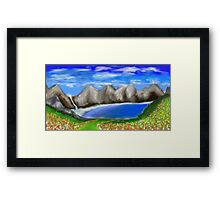Secret Paradise Framed Print