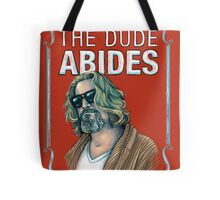 BIG LEBOWSKI-The Dude- Abides Tote Bag