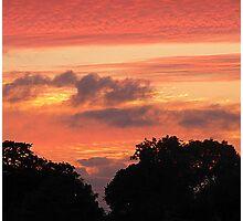Brookeborough Sunset Photographic Print