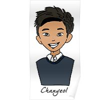 Chanyeol exo Poster