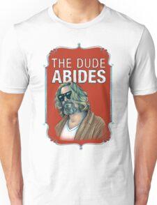 BIG LEBOWSKI-The Dude- Abides Unisex T-Shirt