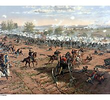 The Battle of Gettysburg  by warishellstore