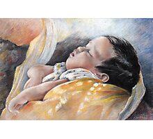 Tahitian Baby Photographic Print