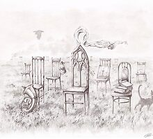 """Chairs""  by Sergei Rukavishnikov by Alenka Co"