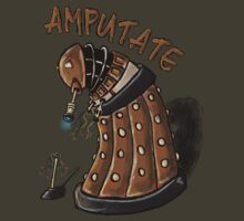 Hurt Dalek by cubcakes