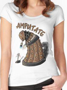 Hurt Dalek Women's Fitted Scoop T-Shirt
