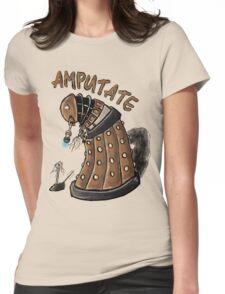 Hurt Dalek Womens Fitted T-Shirt