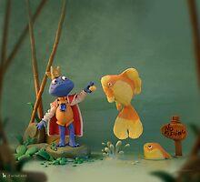 Minus the Frog by lemomekeke