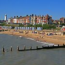 Southwold Beach by RedHillDigital