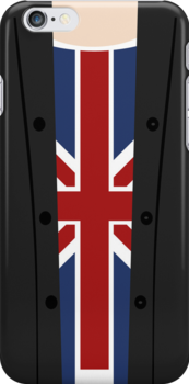a blonde in a Union Jack by blainesbedroom