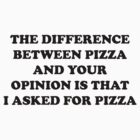 Pizza Or Your Opinion by trentond
