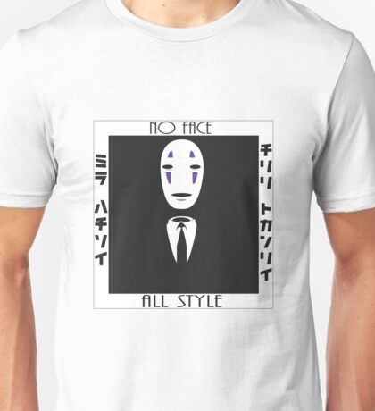 No Face all dressed up Unisex T-Shirt