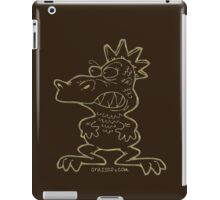 Monster reptile iPad Case/Skin