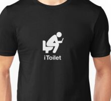 iToilet, icon for people who love reading from iPad in toilet Unisex T-Shirt