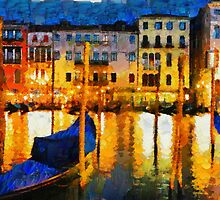 Grand Canal Venice, Italy by Josh Montgomery