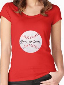THE MICK Women's Fitted Scoop T-Shirt