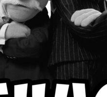 Waldorf and Statler   Thug Life   Muppets Sticker