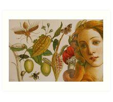 In The Garden of Life Art Print
