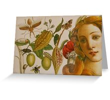 In The Garden of Life Greeting Card