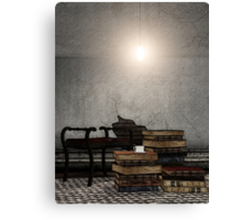 The Reading Corner - Story Time Canvas Print
