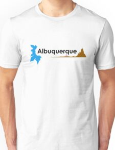 Albuquerque (black) Unisex T-Shirt