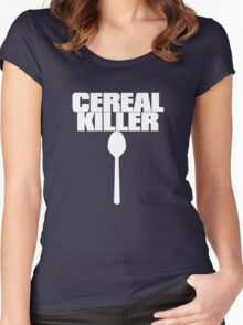 Cereal Killer Women's Fitted Scoop T-Shirt