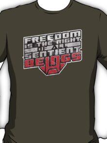 Words of Optimus v2 T-Shirt