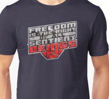 Words of Optimus v2 Unisex T-Shirt