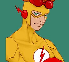 Kid Flash - iphone case by tobiejade