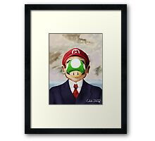 Son of Mario Framed Print