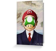 Son of Mario Greeting Card