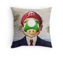 Son of Mario Throw Pillow