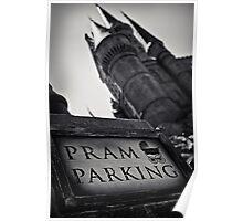 The Wizarding World of Harry Potter: Pram Parking Poster